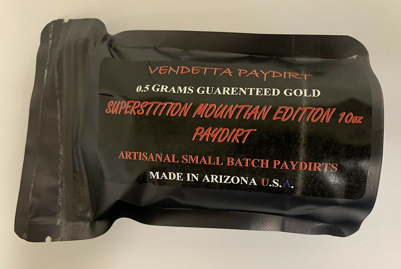 0.5+ Gram Superstition Mountain Edition Paydirt