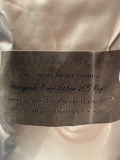 100% ROI GOLD PAYDIRT - Hassayampa River EDITION FINE GOLD