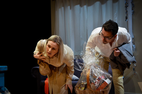 Jayne-Louise O'Connell as Katie and Glen