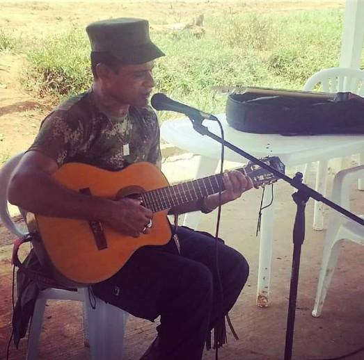 Musico FARC.