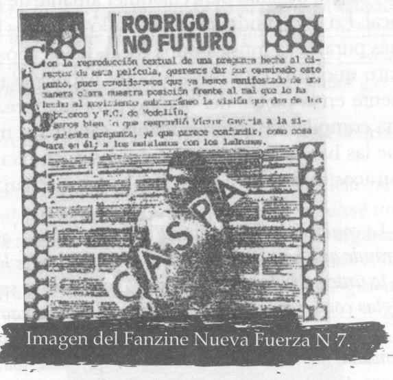 Fanzine Nueva Fuerza N7