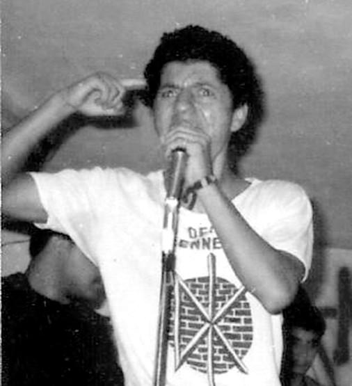 Garled, primer vocalista Desadaptadoz