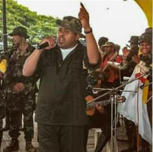 Lucas Iguaran en el Caguán.