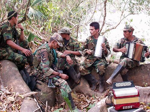 Agrupacion de musicos FARC.