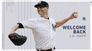 Yankees Officially Re-Sign Happ