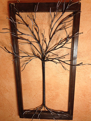 """Small Brown """"Tree of Nails"""""""