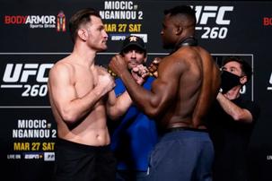 The Predator Returns, UFC 260 Predictions