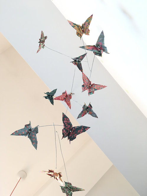 Mobile cinétique papillon