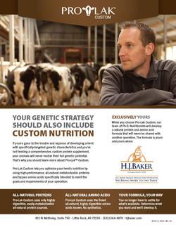 H.J. Baker Pro-Lak Genetics Ad