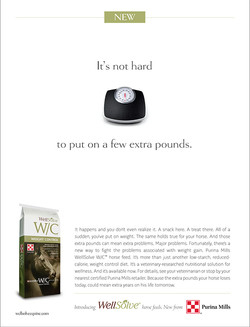 Purina WellSolve Scales Intro Ad