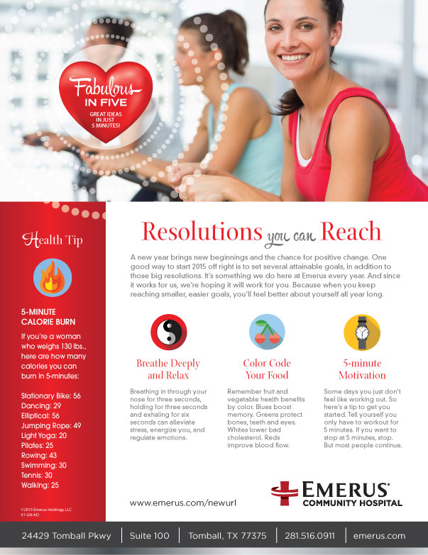 Emerus Resolutions Ad / Handout