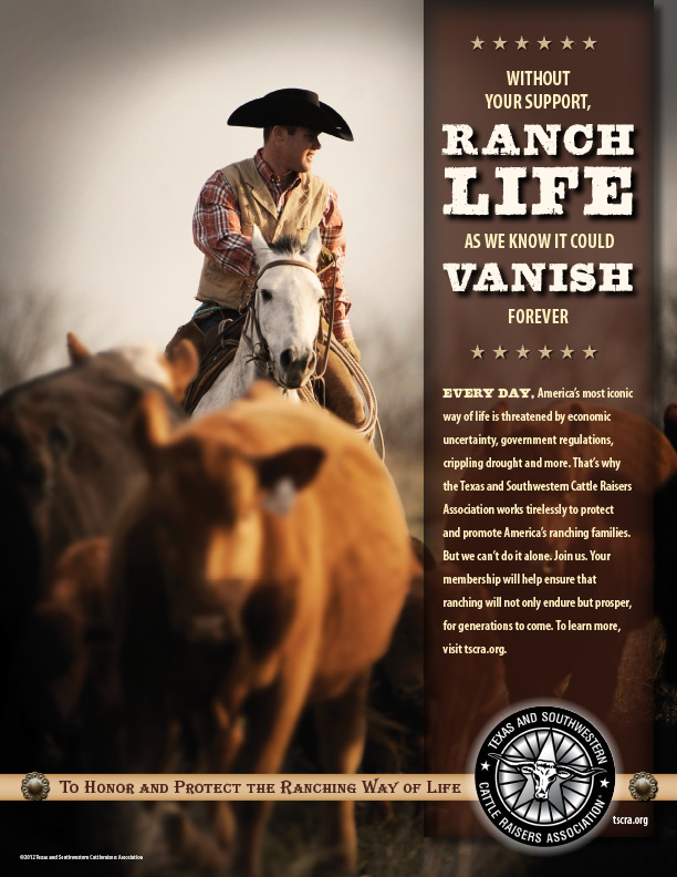 TSCRA Ranch Life Ad