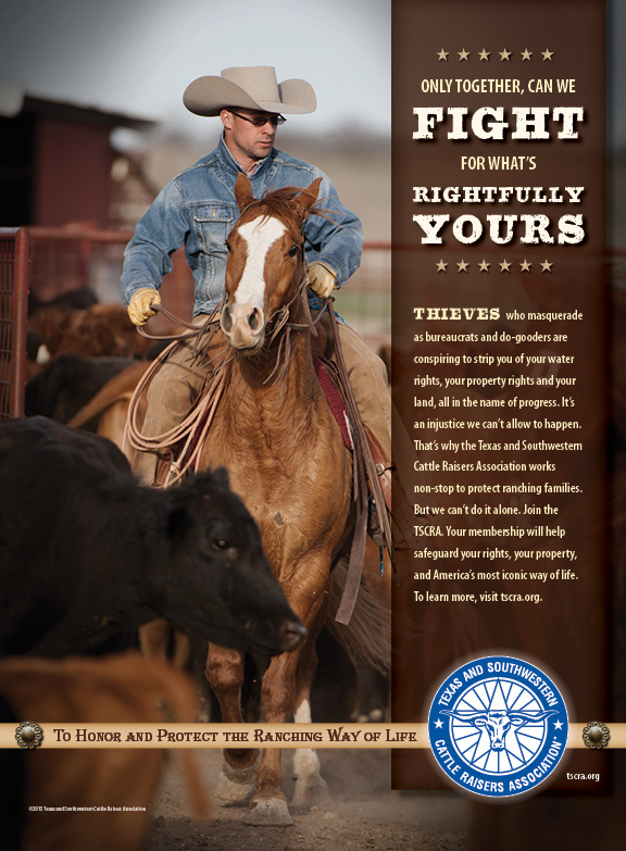 TSCRA Land Rights Ad