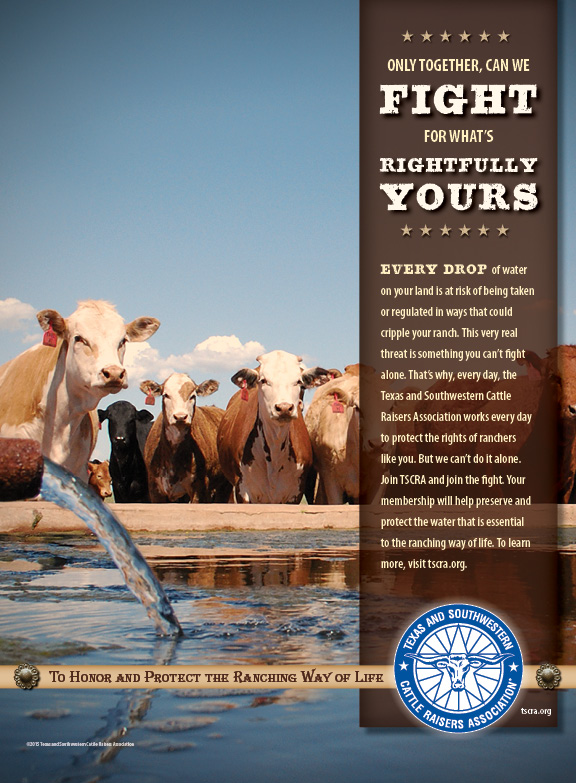TSCRA Water Rights Ad