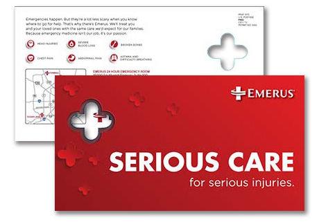 Emerus Emergency Care Postcard