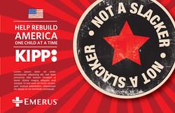 KIPP Schools / Emerus Poster