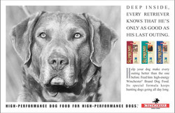 Winchester Dog Food Last Outing Ad