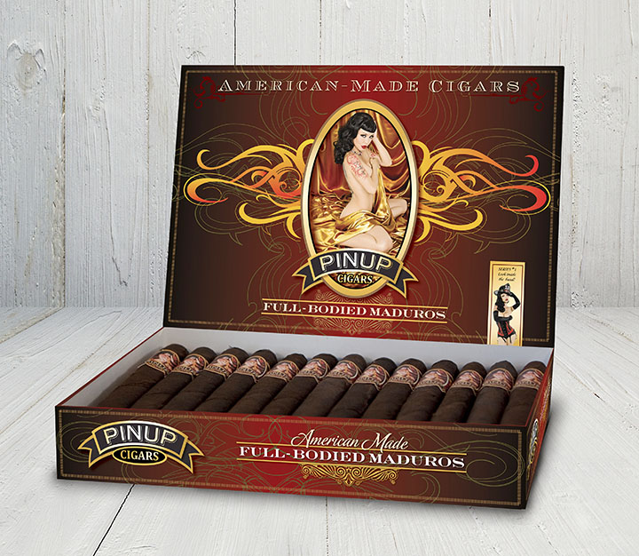 Pinup Cigars Maduros Box