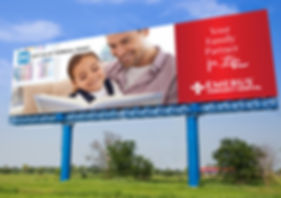 Emerus Hospitals Billboard