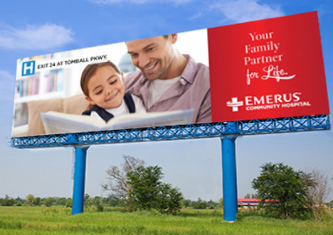 Emerus Hospitals Billboard