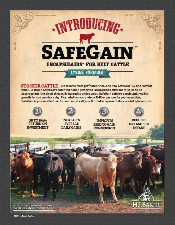 H.J. Baker SafeGain Pen Ad
