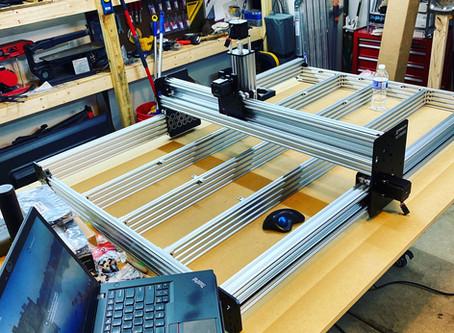 CNC Upgrade has begun.