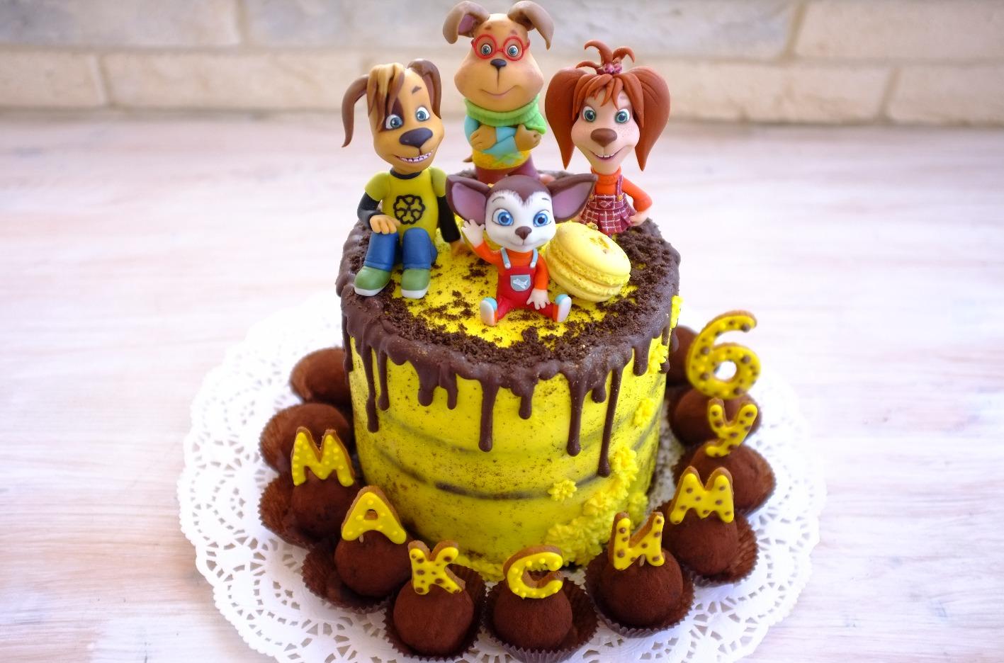 """торт """"Барбоскины"""""""