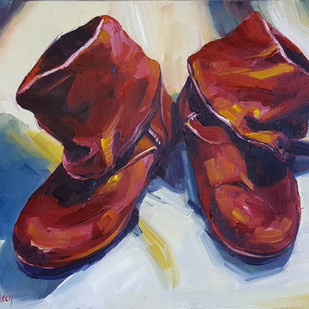 Dance Boots at Rest