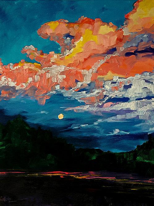 Moonrise Stormcloud