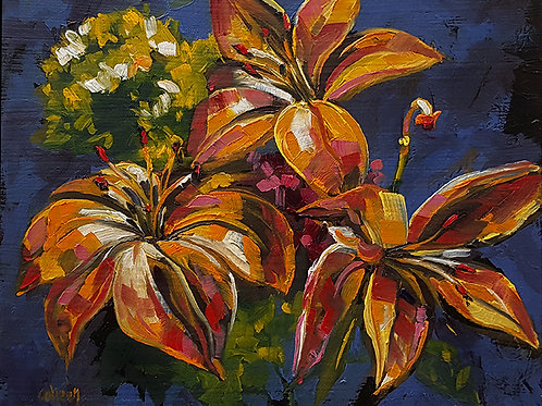 Patchwork Lillies