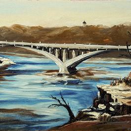 Lake Street Bridge, March