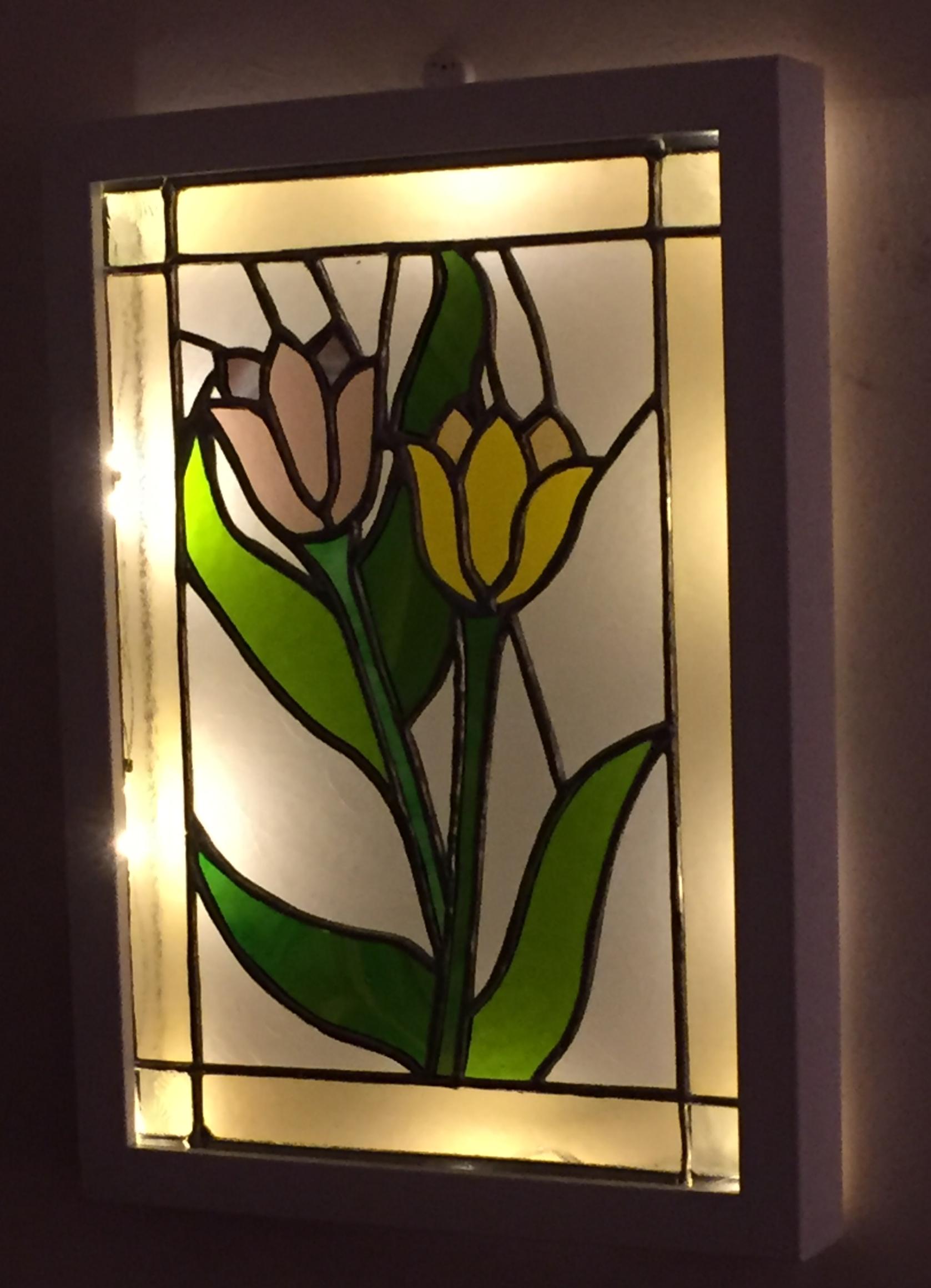 Tulip wall panel