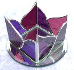 Purple Wave Tealight holder
