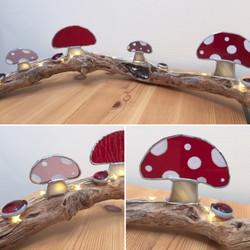 Toadstool Garden light