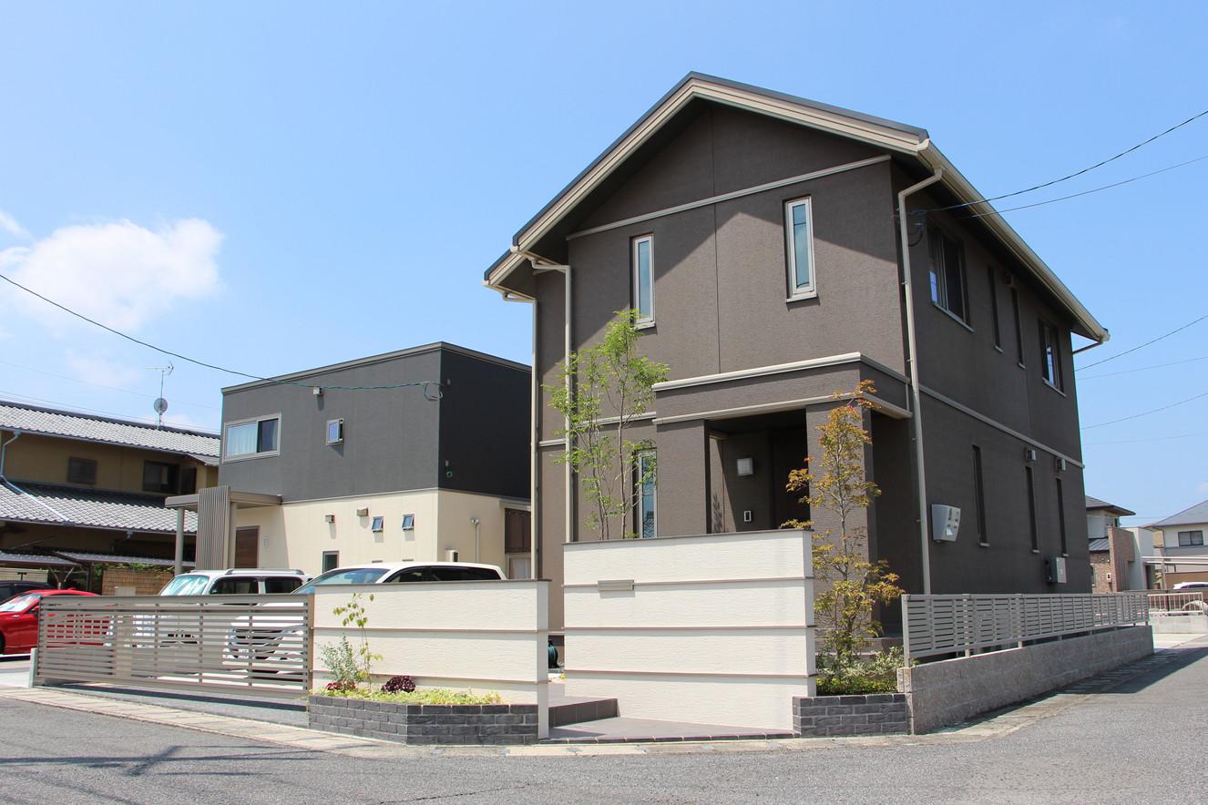 01/26 明瞭な色分け ガーデン&エクステリア工事