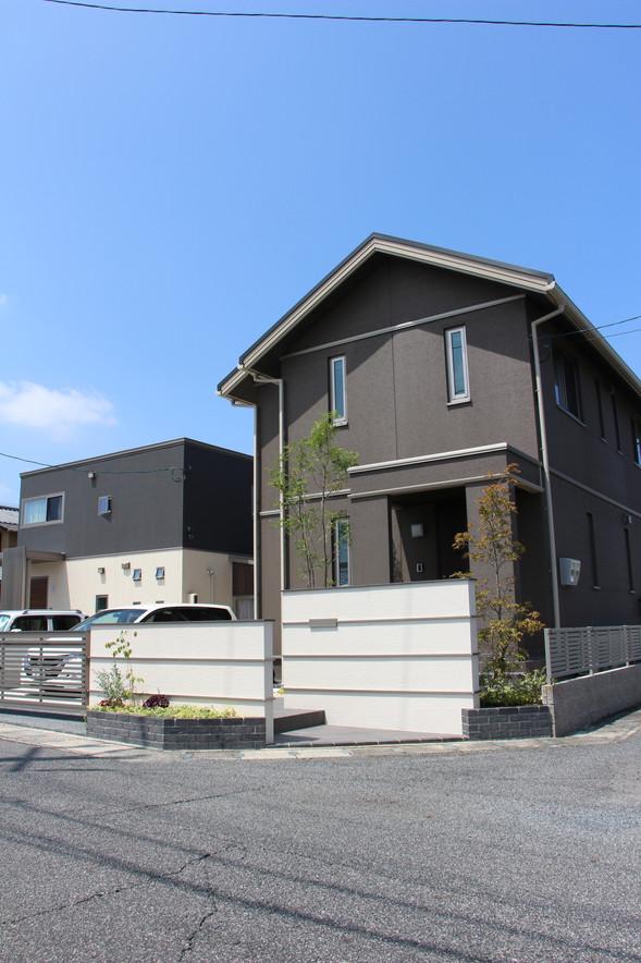 04/26 明瞭な色分け ガーデン&エクステリア工事