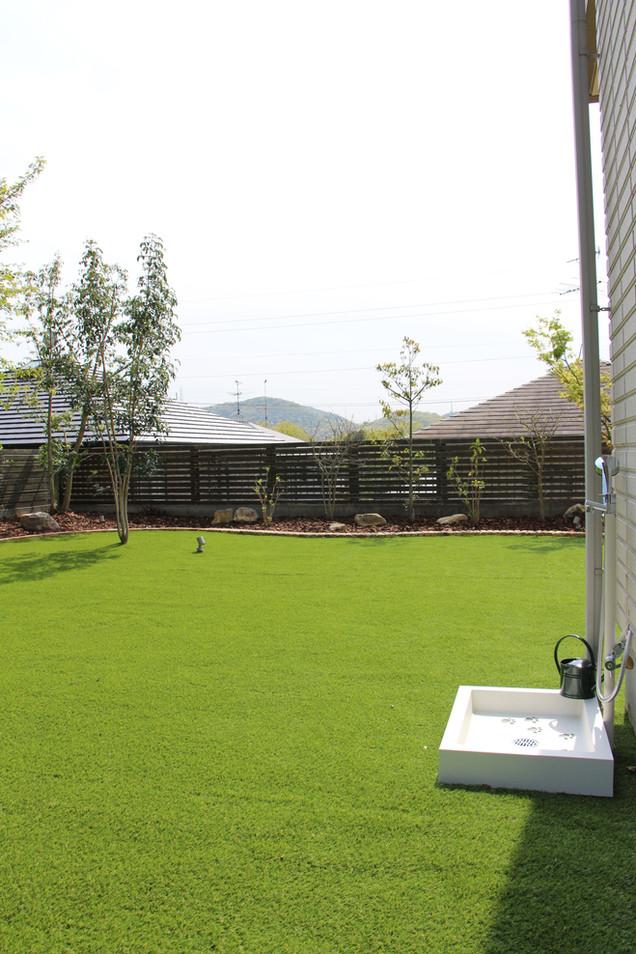 07/23 愛犬たちと過ごす庭 ガーデン工事