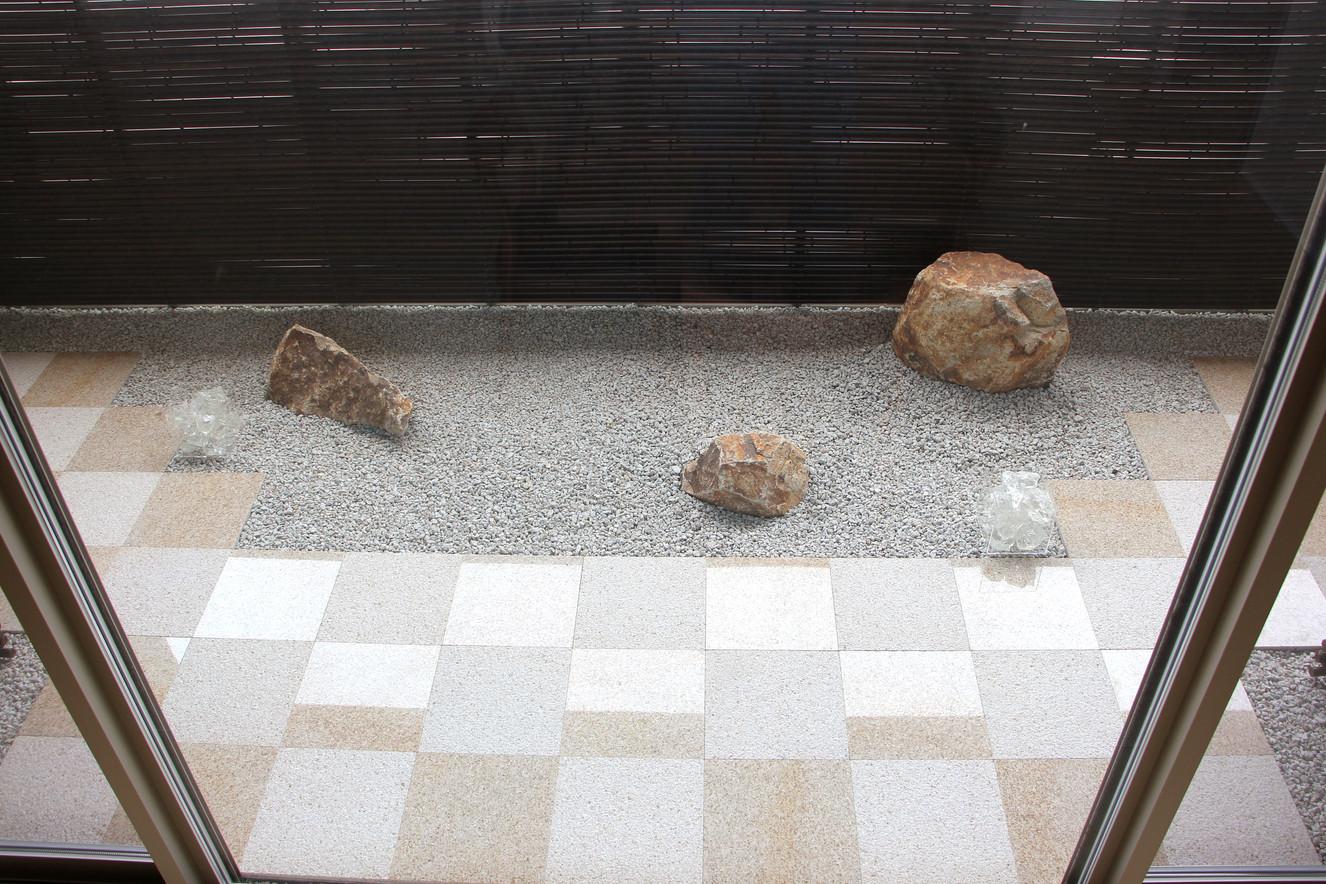 04/28 石畳文様の庭 ガーデン&エクステリア工事