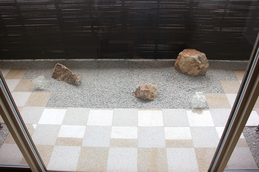 03/28 石畳文様の庭 ガーデン&エクステリア工事