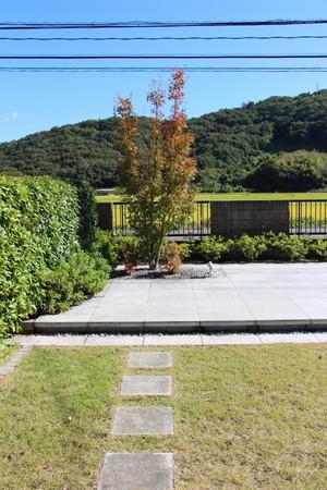 04/23 見立ての庭 ガーデン工事