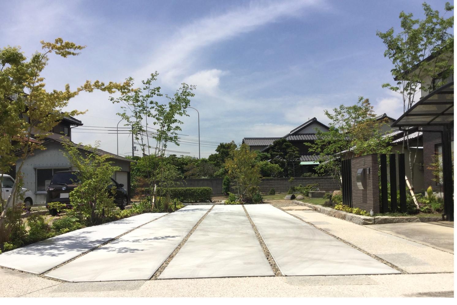 ほど良く開く|ガーデン工事(リノベーション)