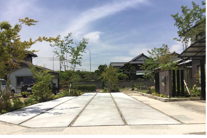 ほど良く開く ガーデン工事(リノベーション)