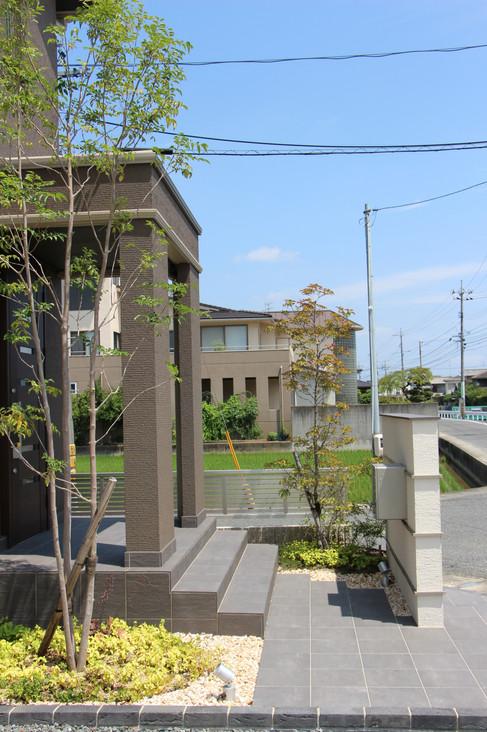 05/26 明瞭な色分け ガーデン&エクステリア工事