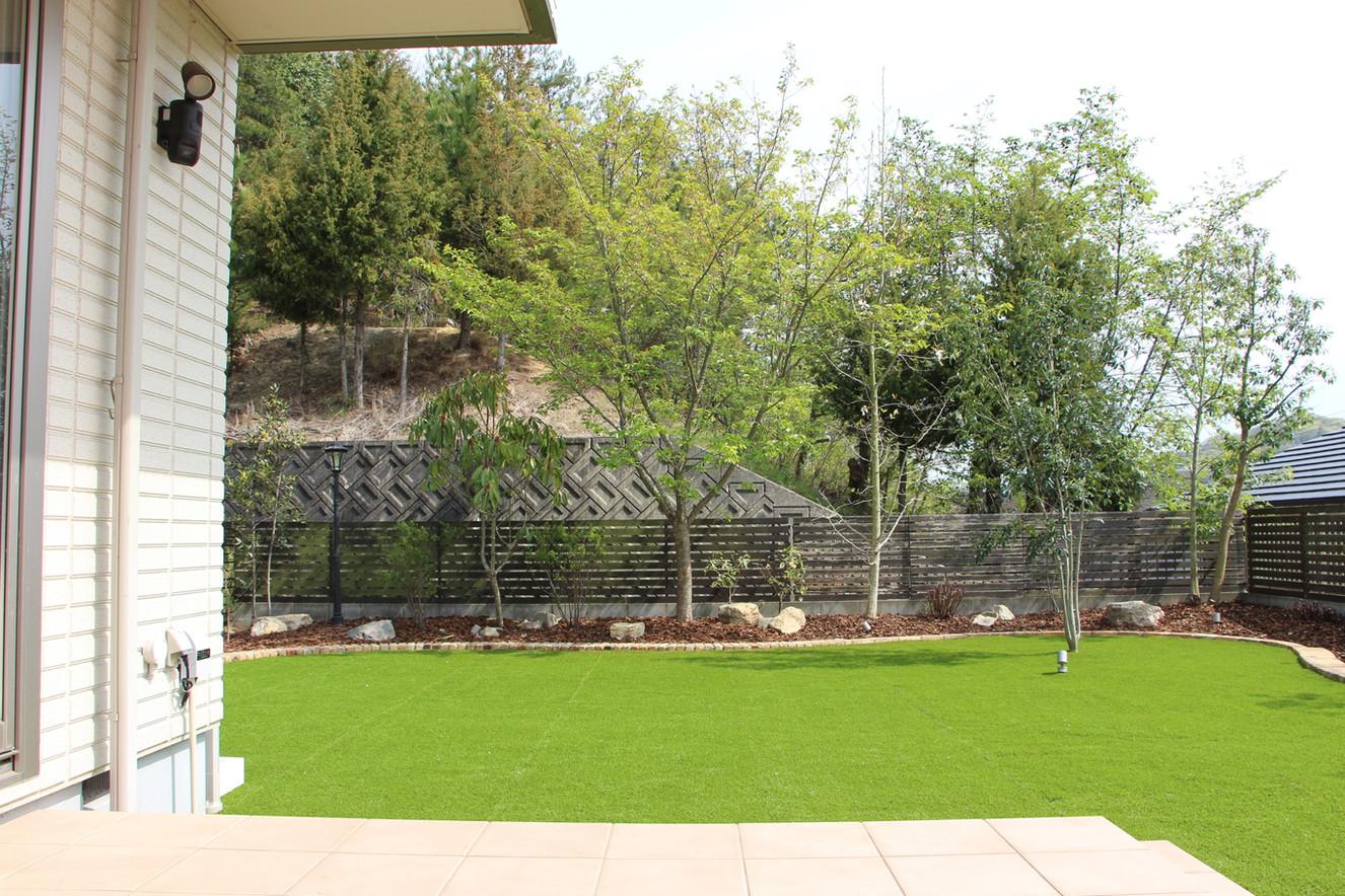 10/23 愛犬たちと過ごす庭 ガーデン工事