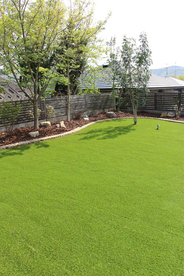 02/23 愛犬たちと過ごす庭 ガーデン工事