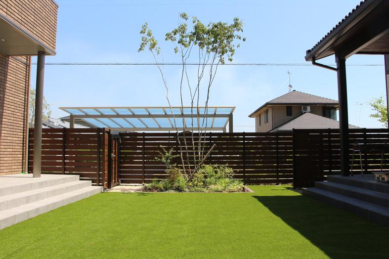 おおらかに構える ガーデン&エクステリア工事