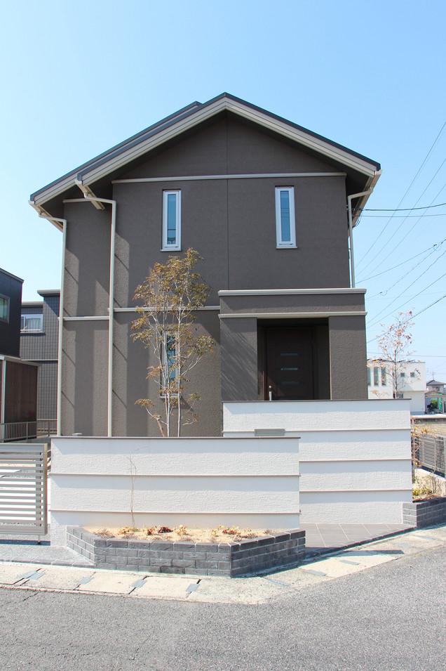 14/26 明瞭な色分け ガーデン&エクステリア工事