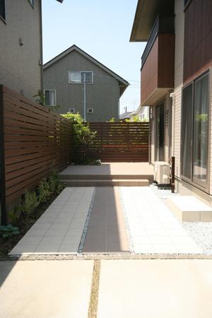 04/13 ローメンテナンスを目指した庭 ガーデン工事