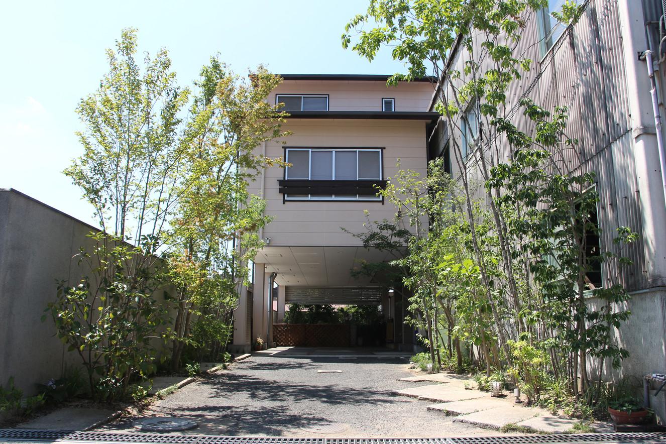 03/17 木々をくぐって ガーデン工事(リノベーション)