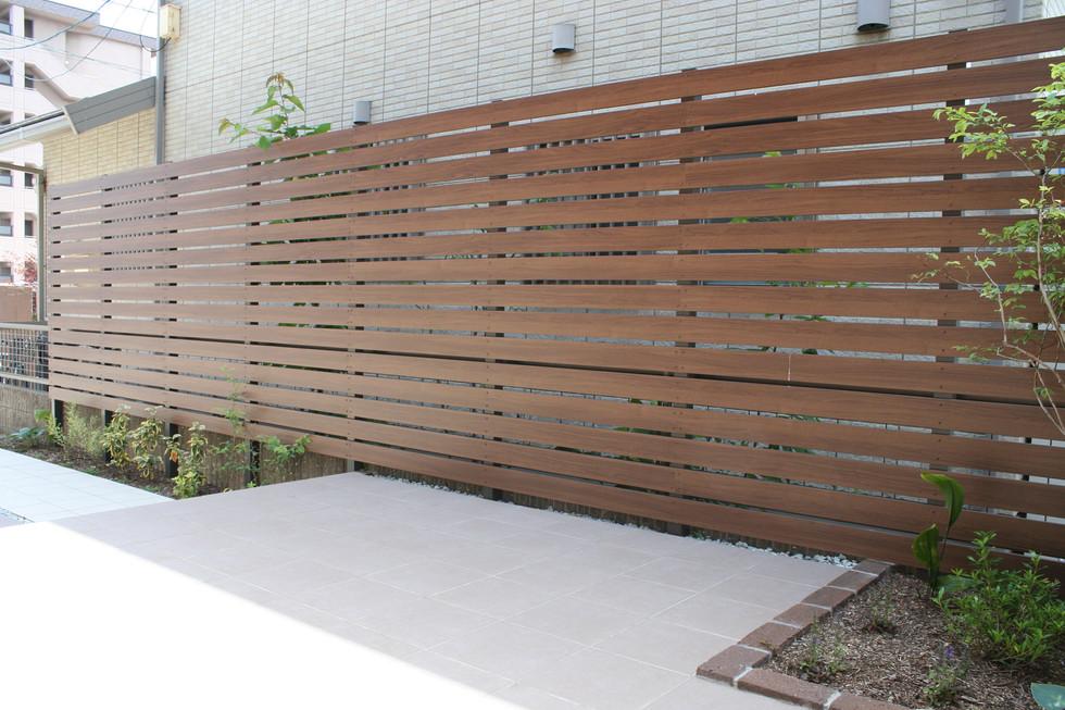 06/13 ローメンテナンスを目指した庭 ガーデン工事